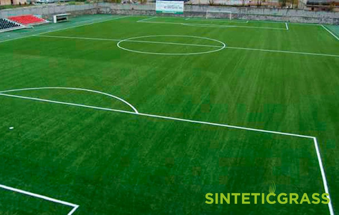 Cesped artificial para campos de futbol