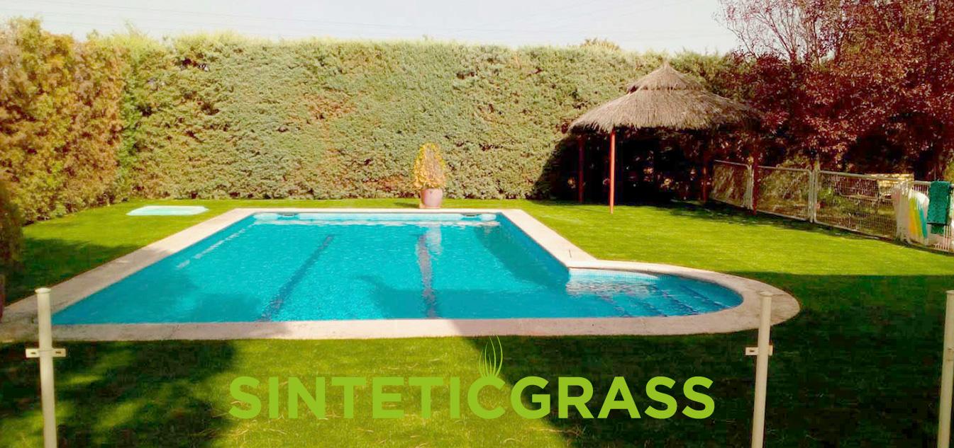 cesped artificial para piscinas sinteticgrass